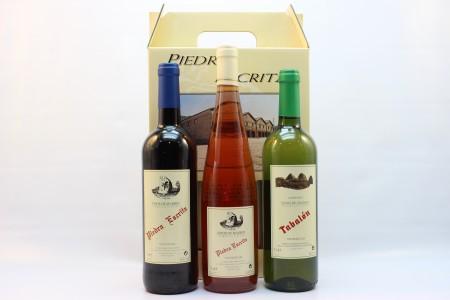 Estuche de vinos Piedra Escrita y Tabalón